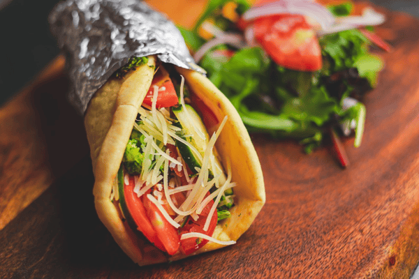 Roasted Vegetables sandwich