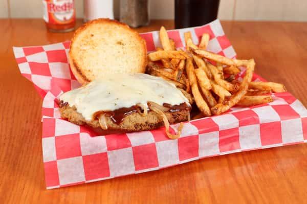 Country fried steak sandwich (2)