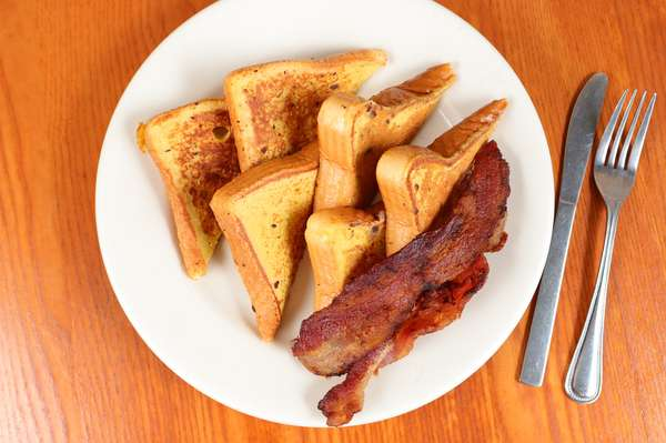 French toast and bacon (4)