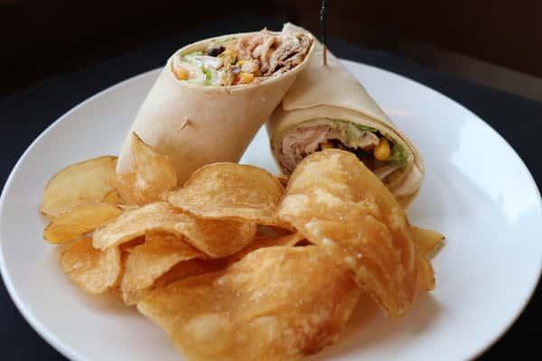 Chipotle Pork and Avocado Wrap