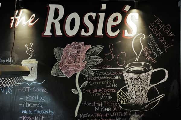 rosie's chalkboard