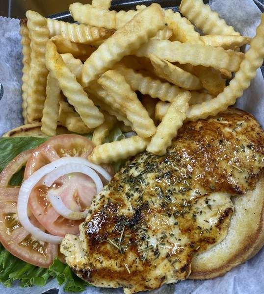 Grilled or Fried Chicken Breast Sandwich