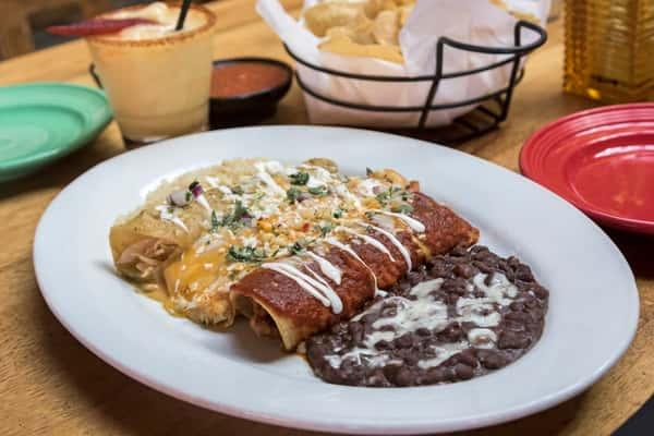 Trio Enchiladas Banderas