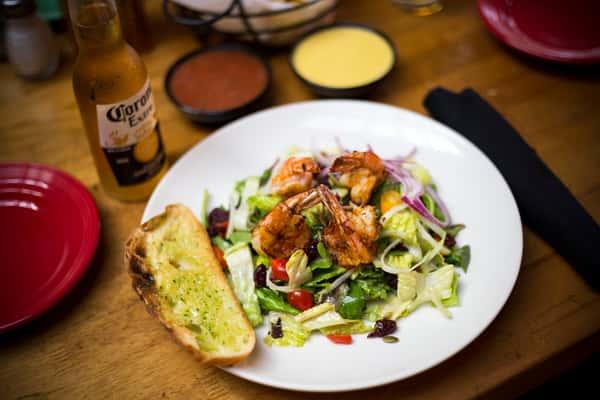 Jumbo Grilled Shrimp Salad