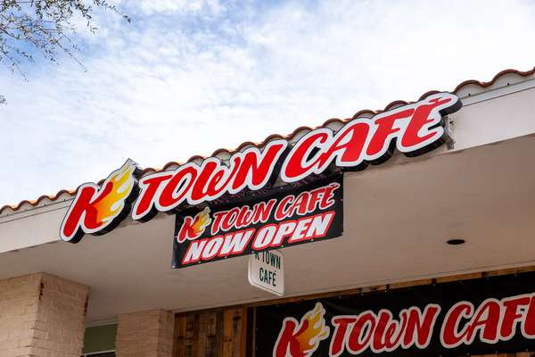K Town Cafe Now Open
