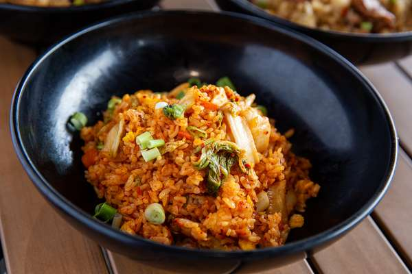 K-Town Fried Rice with Kimchi