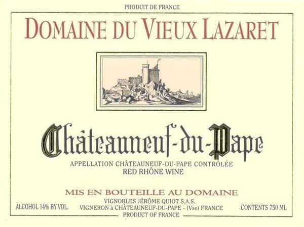 2016 Domaine Des Vieux Lazaret Chateauneuf du Pape (Rhone Valley)