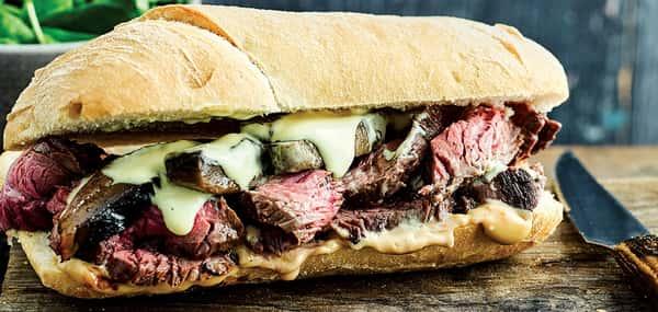 KC Strip Sandwich