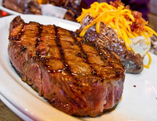 12oz KC Strip (after 5pm dine-in only)