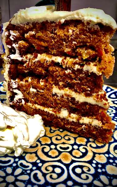 Carrot Cake Tower