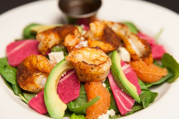 Shrimp Grapefruit Avocado