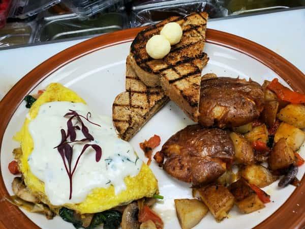 Gunbarrel Omelet