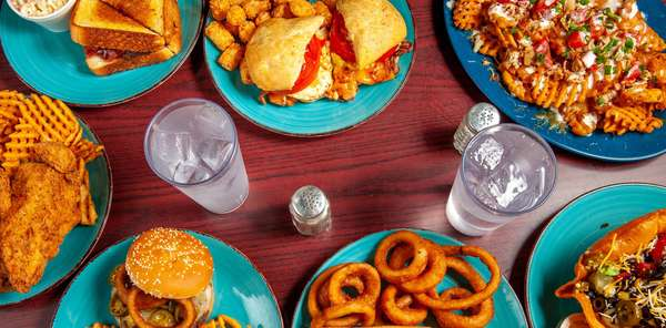 assorted foods