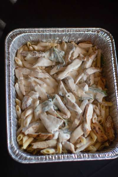 Family Chicken Penne Alfredo