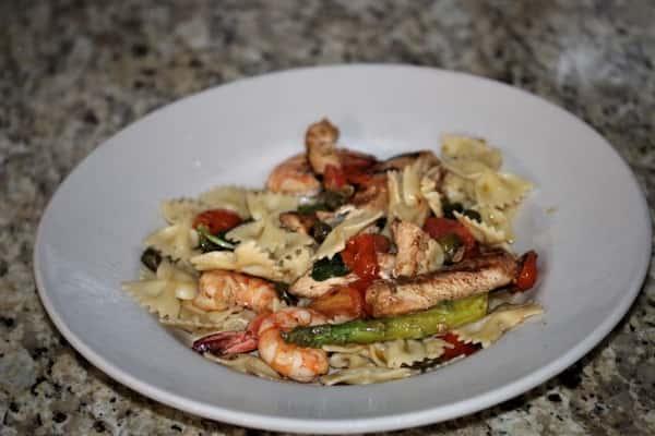 Chicken & Shrimp Napoletani
