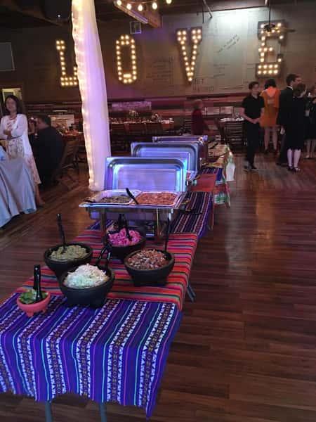inside catering