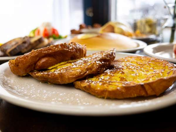 Cinnamon Croissant French Toast