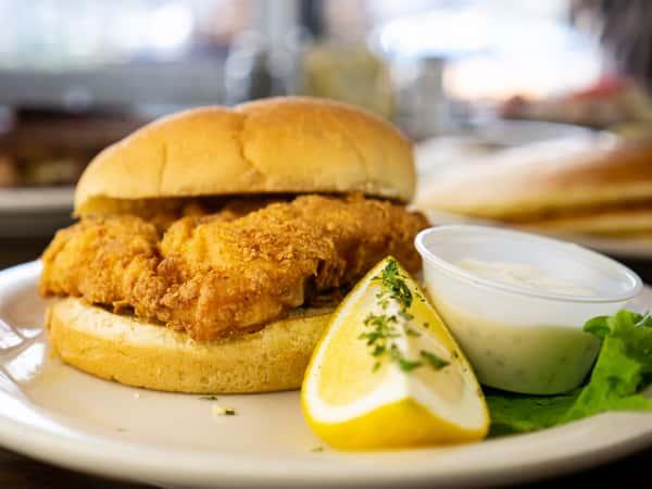 Cape Cod Fish Sandwich