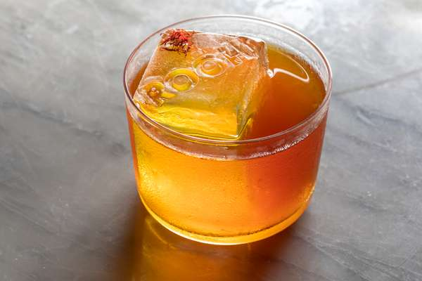 Ghee Kesar Old Fashioned