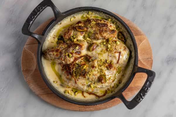 Baked Chicken Malai Tikka