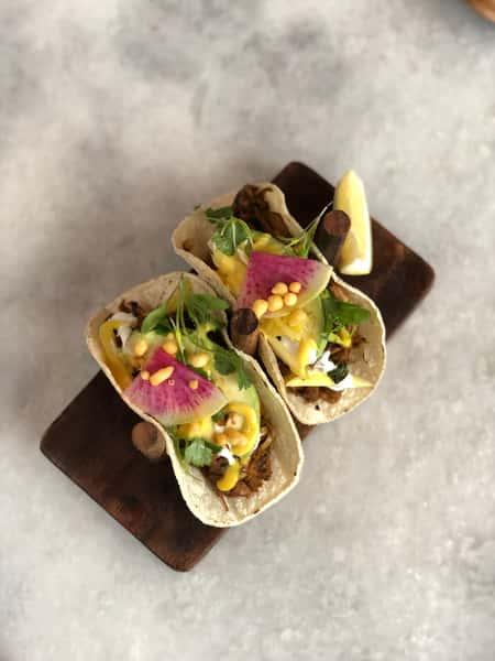 Masala Jackfruit Taco