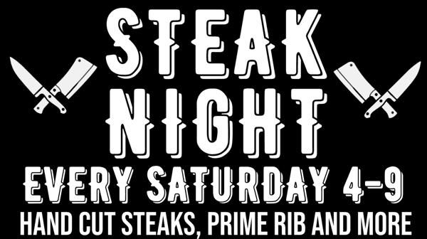 Steak Out Saturdays