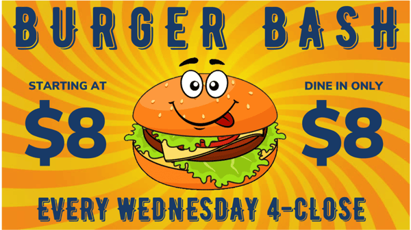 Burger Bash Wednesday