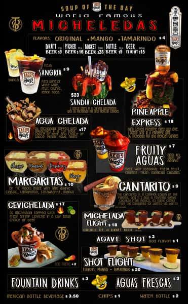 New drink menu