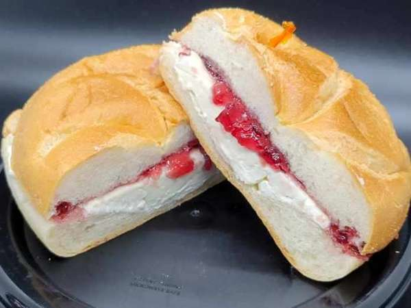 Roll With Jelly and/or Cream Cheese
