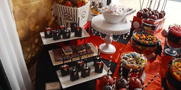 Variety of desserts and bakes