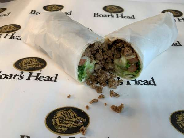 Meat Substitute Wrap