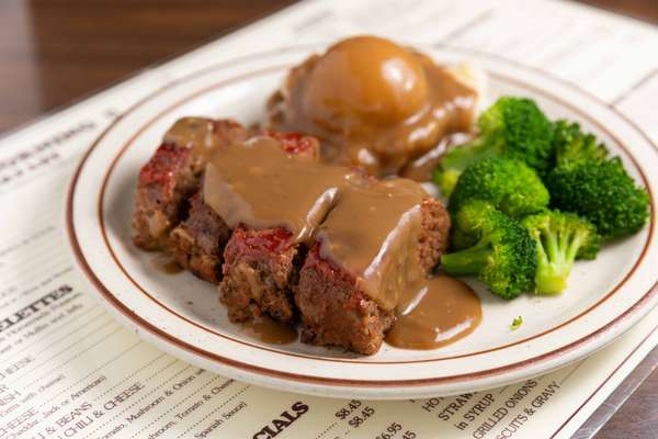 meatloaf lunch