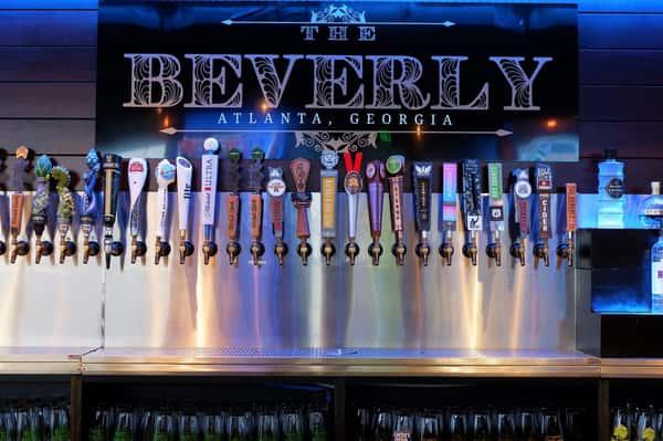Bar of The Beverly Atlanta
