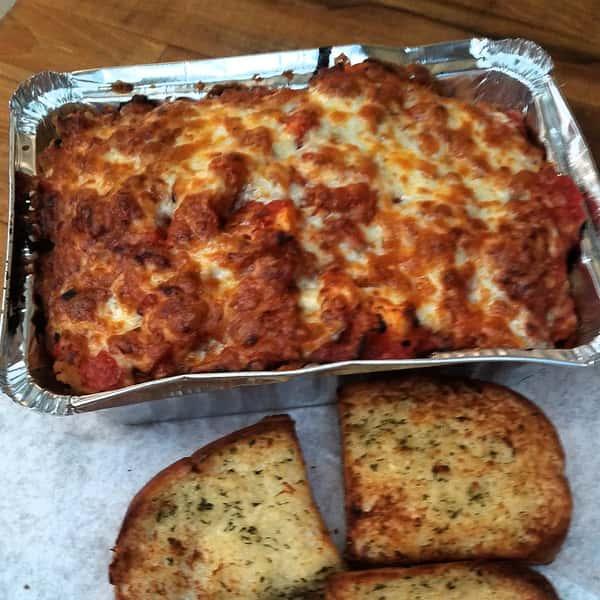 Spaghetti or Ziti with meatballs
