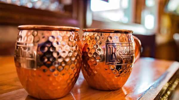 Kettle one copper mugs