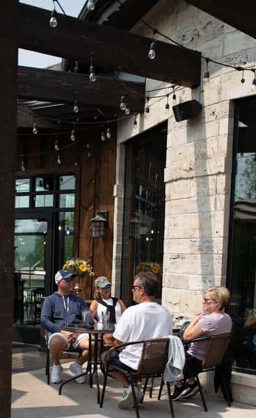 exterior dining