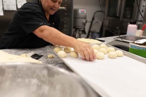 rollling dough