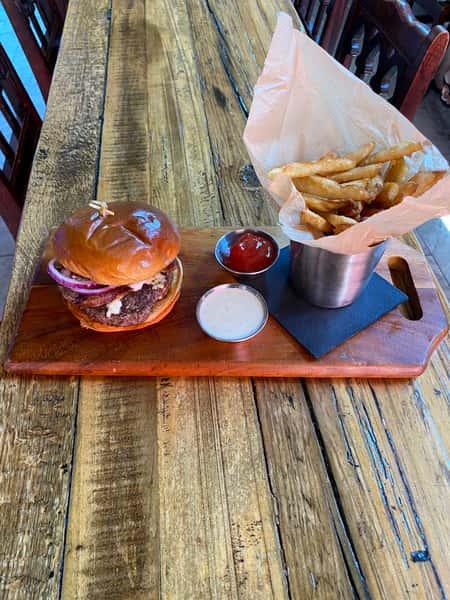 Bleu Bacon Burger