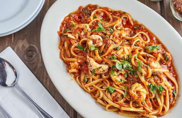Linguini Gamberetti