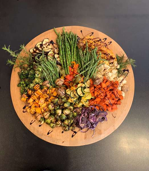 Grilled Seasonal Vegetable Platter