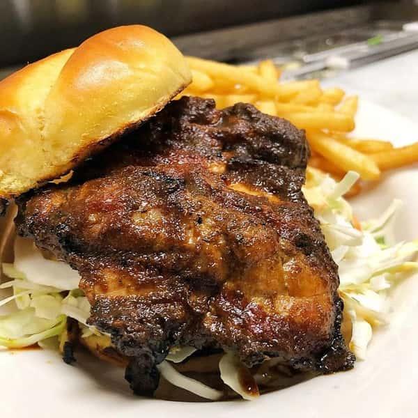 Jerk Chicken Sandwich