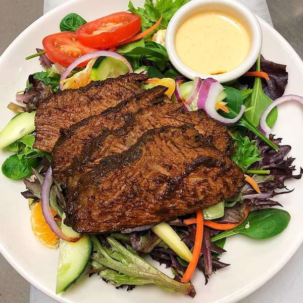 Jerk Tri-tip Salad