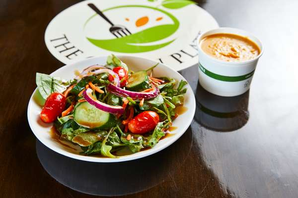 Side Salad & Cup of Soup