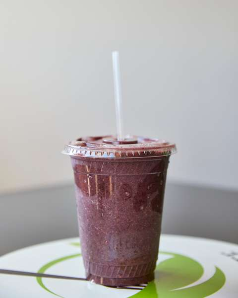 Green Berry Smoothie