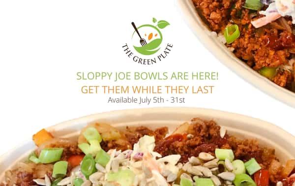 Sloppy Joe Bowls
