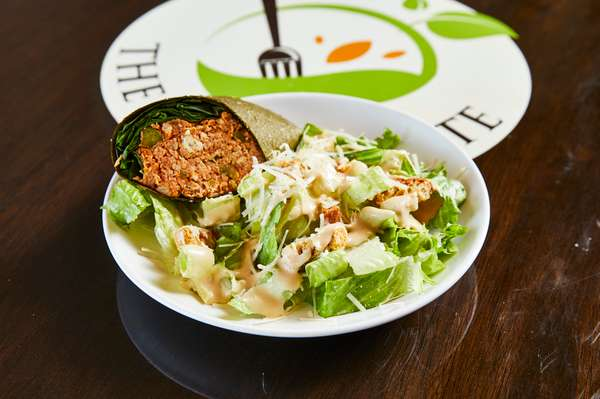 Half a Wrap / Side Salad