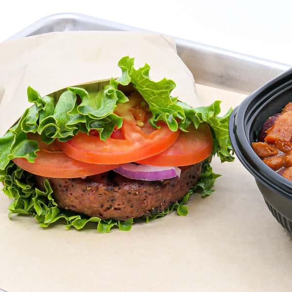 Vegetarian Beyond Burger