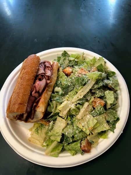 1/2 Tri-Tip Sandwich & 1/2 Caesar Salad
