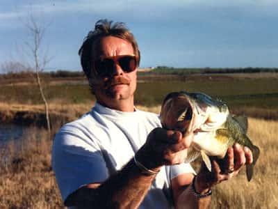man with fish
