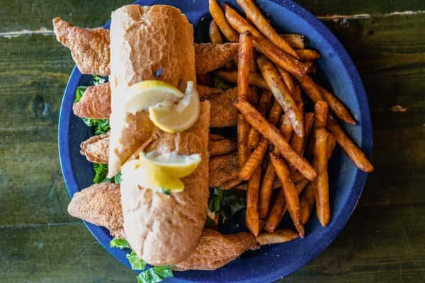 catfish dinner